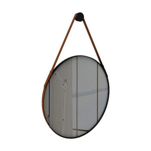 Espelho Onix 70x70 cm Caramelo - Móveis Rudnick