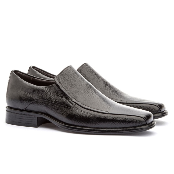 Sapato Loafer Masculino Koning Gel Toulon Black
