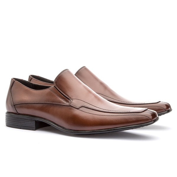 Sapato Loafer Masculino Koning Assis Whisky