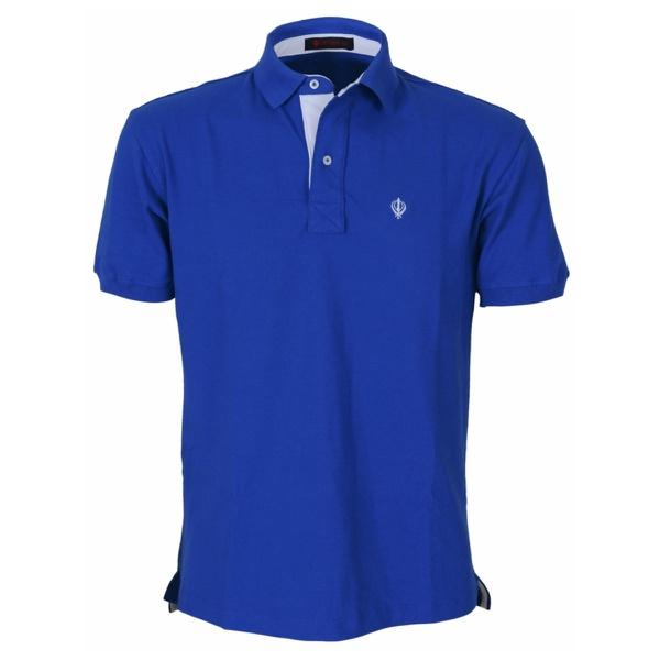 Camisa Polo Masculina Zegen Azul Royal DB
