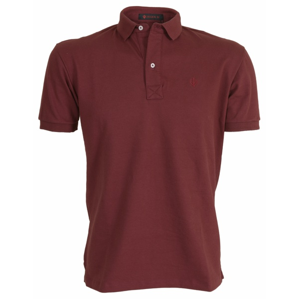 Camisa Polo Zegen Bordô