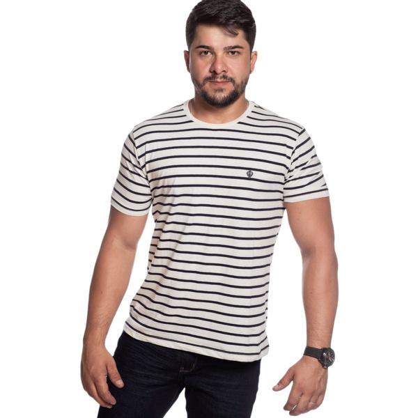 Camiseta Masculina Zegen Sustentável Cânhamo LA