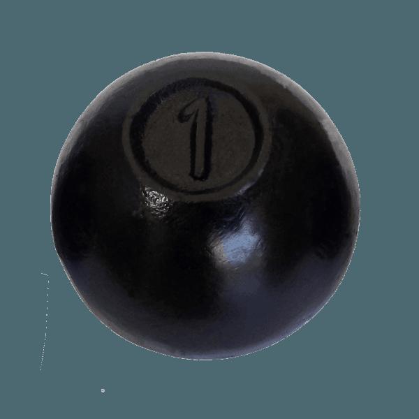 Bola de Arremesso Pintada 1kg