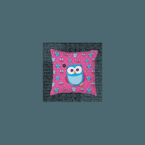 Almofada - Coruja Rosa