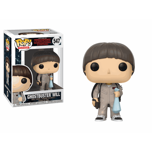STRANGER THINGS – GHOSTBUSTERS WILL POP! VINYL