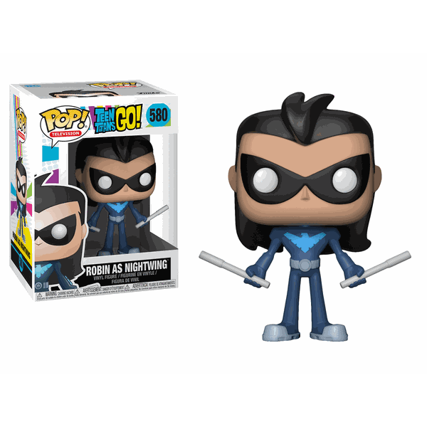 Teen Titans Go! Robin as Nightwing Pop! Vinyl