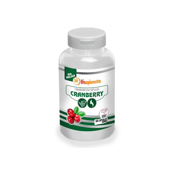 Cranberry 60 cápsulas x 500mg