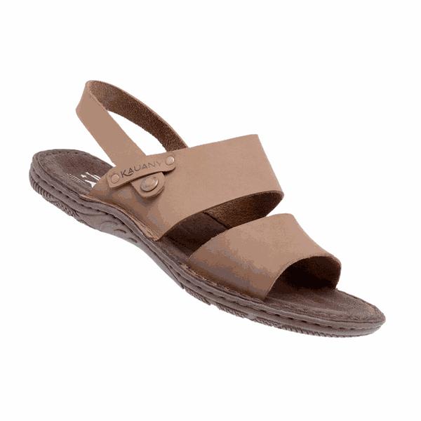 Sandália de Couro Masculino Linha Leblon 34 - Capuccino