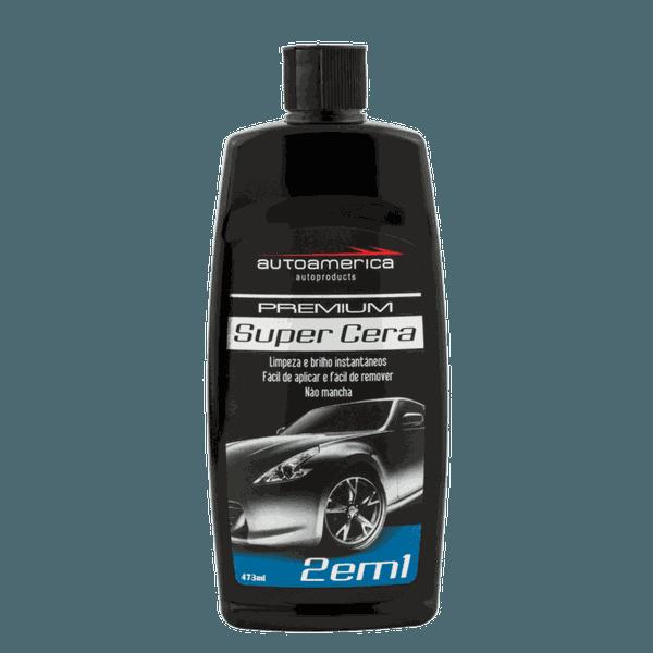 Autoamerica Super Cera Premium - 2 Em 1 (473ml) - 306