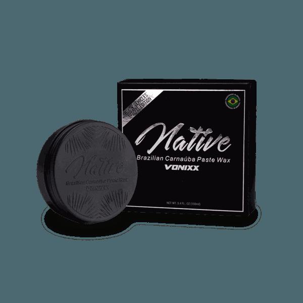 Native Brazilian Carnaúba Paste Wax – Black Edition (100ml)