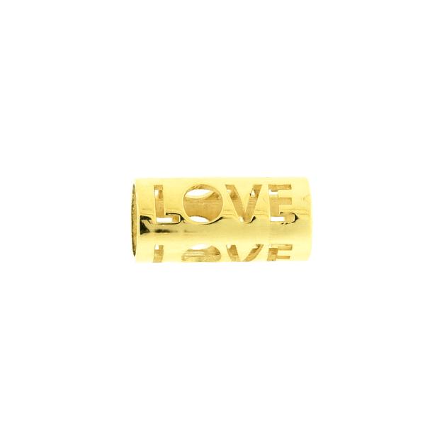Pingente de Ouro 18K Separador de Pingentes Love