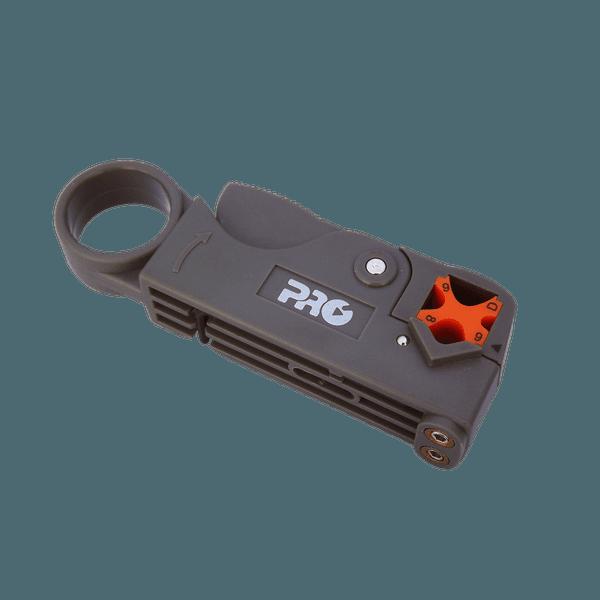 Alicate decapador ajustável para: RG-59, RG-6 E RG-58