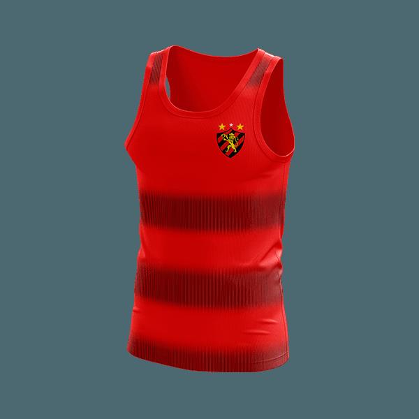 Camisa Regata Sport Vermelha Ref: SR021 26