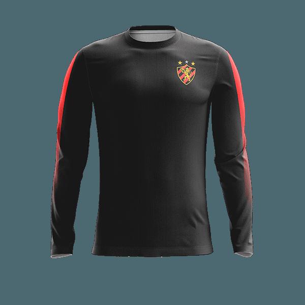 casaco Flanelado Torcedor - Sport Preta