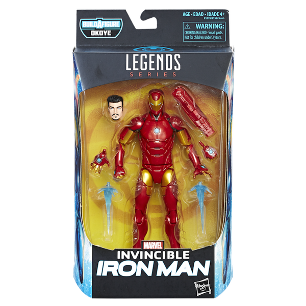 INVINCIBLE IRON MAN - MARVEL LEGENDS