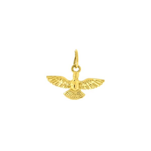Pingente de Divino Espírito Santo em Ouro 18K
