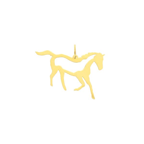 Pingente de Ouro 18K Cavalo Pequeno
