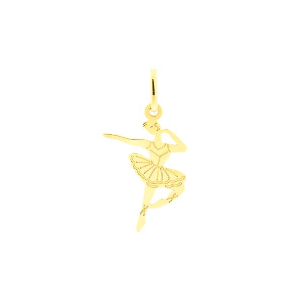 Pingente de Ouro 18K Bailarina Pequena
