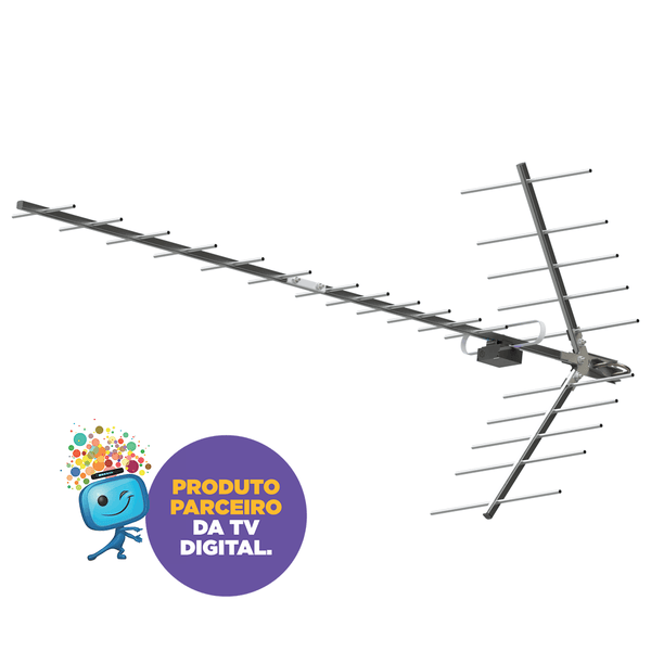 ANTENA DIGITAL YAGI – PROHD-1115