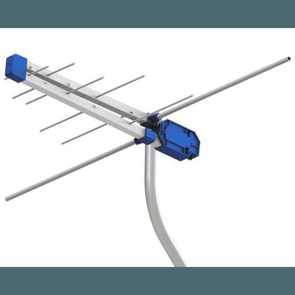 Antena Digital + Mastro + Cabo - Kit completo.