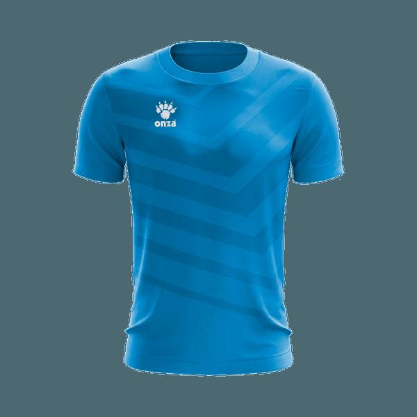 Camisa Jogo - Azul com detalhes diagonais