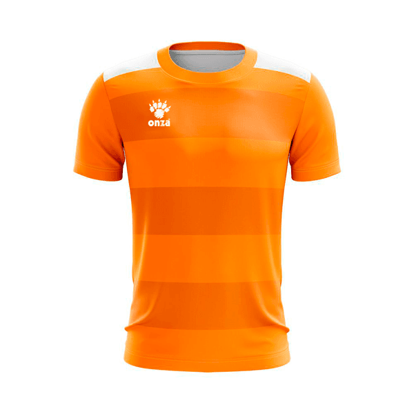 Camisa Jogo - Laranja com Barras