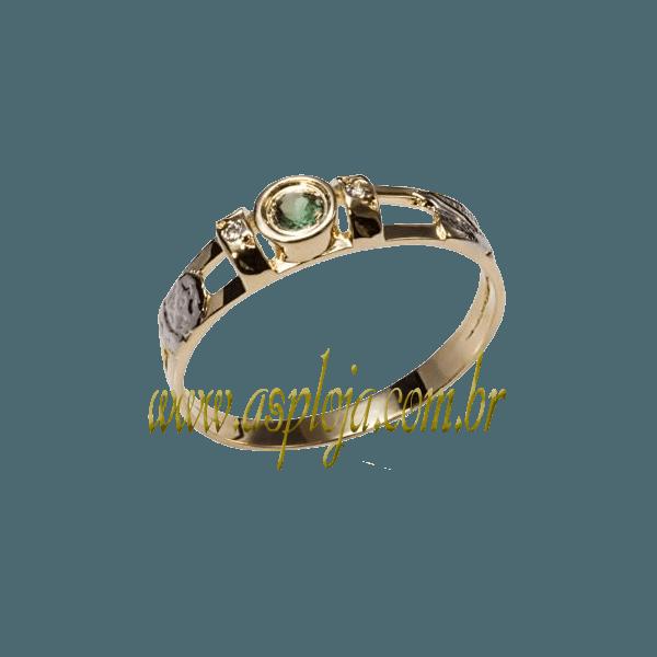 anel de formatura ouro amarelo 18K 750-ASP-AF-131