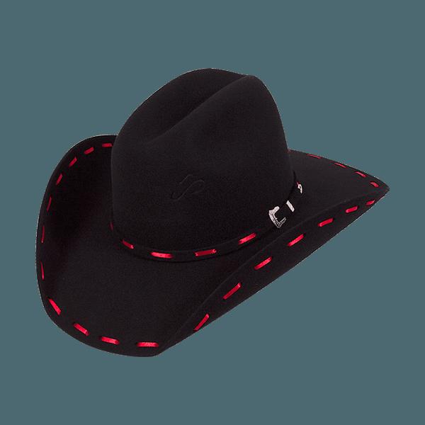 Chapéu Pralana Arizona TREND Preto/vermelho