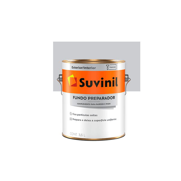 Fundo Preparador de Paredes 3,6 Litros - Premium Suvinil