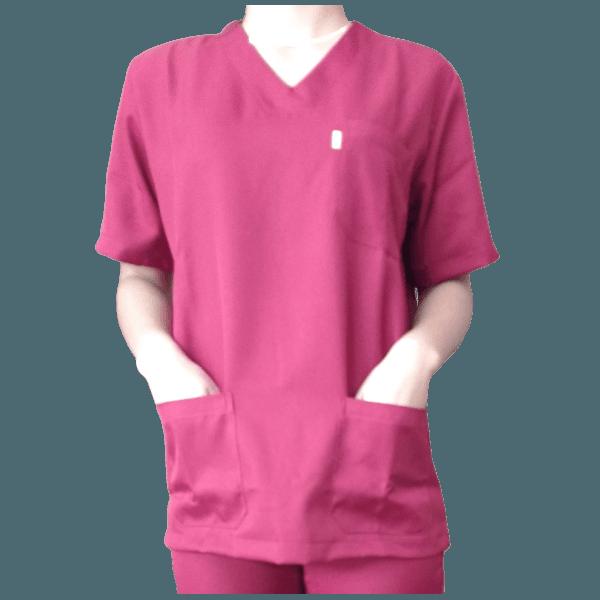 Conjunto Cirúrgico em Microfibra Vinho
