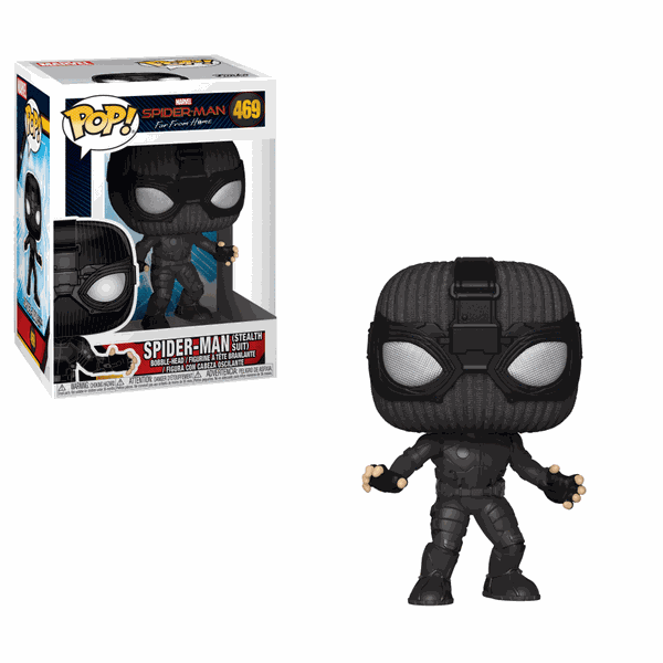 SPIDER-MAN STEALTH SUIT POP VINYL #469