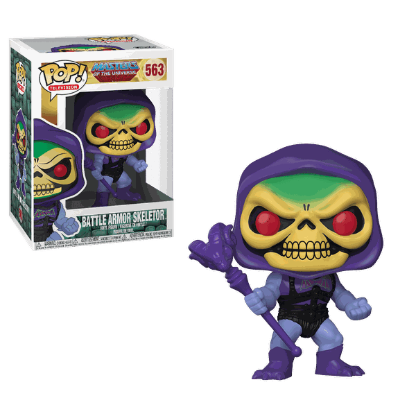 Masters Of The Universe - Battle Armor Skeletor #563 Funko Pop Esqueleto
