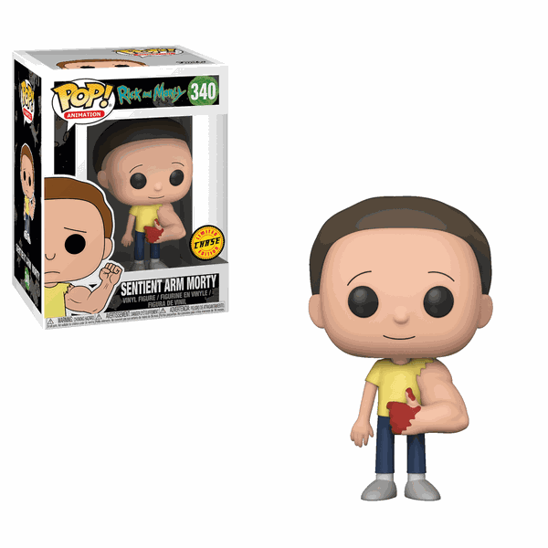 RICK AND MORTY - SENTIENT ARM MORTY #340 CHASE FUNKO POP