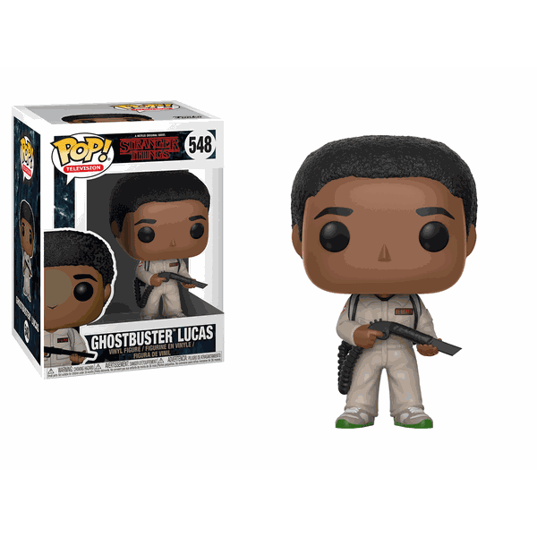 STRANGER THINGS - GHOSTBUSTERS LUCAS POP! VINYL