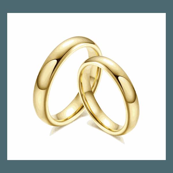 Alianças Gaya 4mm ♥ Casamento E Noivado Tungstênio