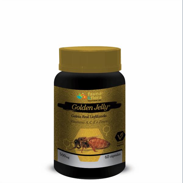 Geleia Real Liofilizada Golden Jelly 100mg 30caps