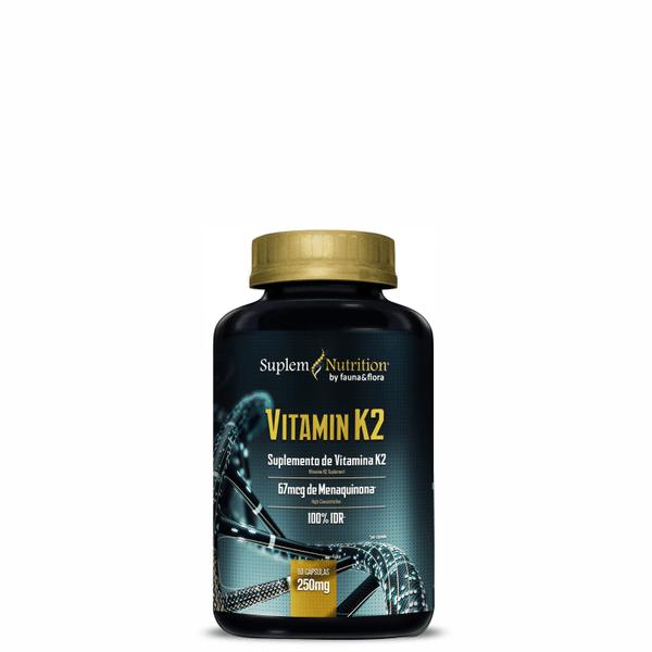 Vitamina K2 250mg 100 cápsulas