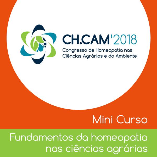 Inscrição Mini curso - Fundamentos da homeopatia nas ciências agrárias