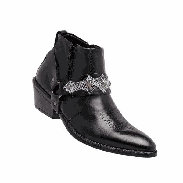 Bota masculina estilo country – Linha Americana 8096 – Preto