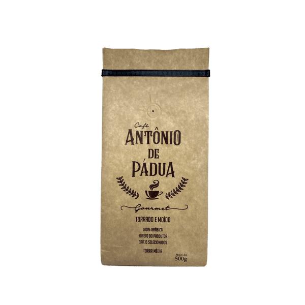 Café Antônio de Pádua - Gourmet Torrado e Moído - 500g