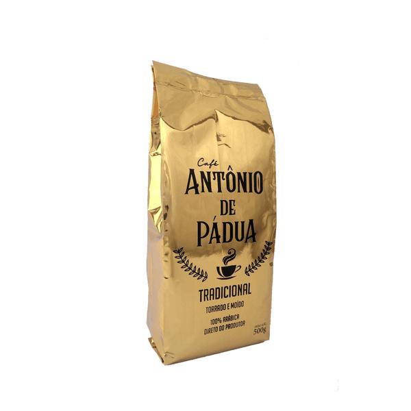 Café Antônio de Pádua - Tradicional - Torrado e Moído - 500g