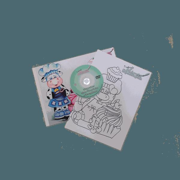 DVD com Projeto Cupcake com Vaquinha e Porquinha