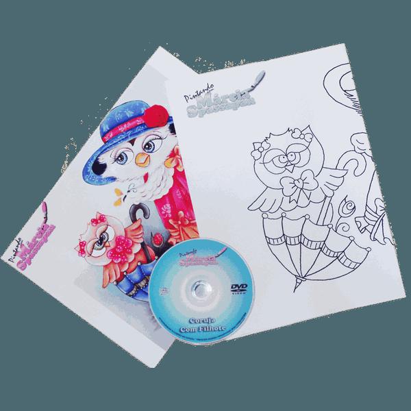 DVD com Projeto Bule com Joaninha