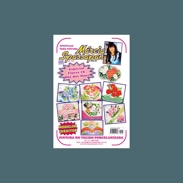 Apostila Para Pintura Flores Edição 107