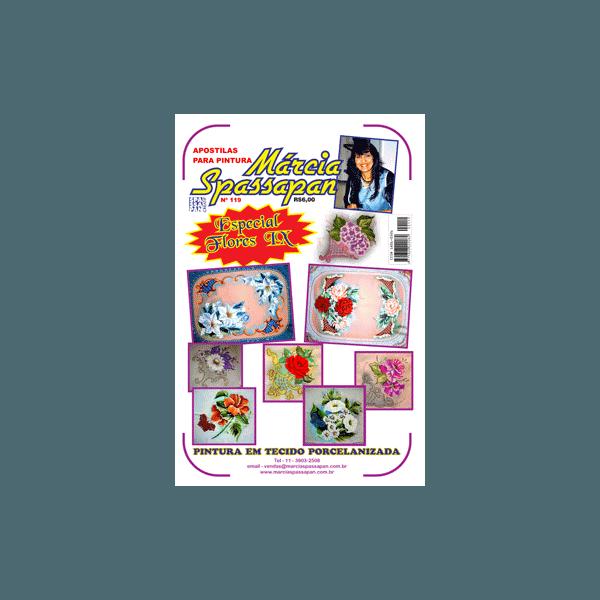 Apostila Para Pintura Flores Edição 119