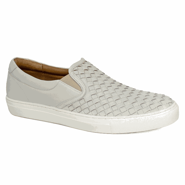 Sapatênis Masculino Confortável - Trisse Off White - 01015-OW
