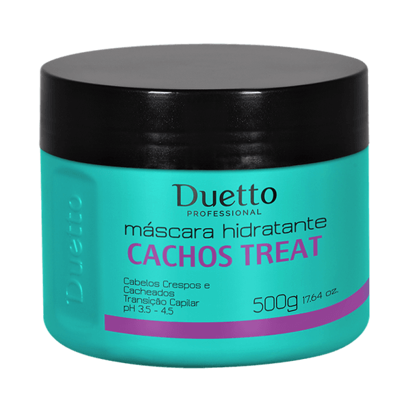Máscara Hidratante Cachos Treat 500g
