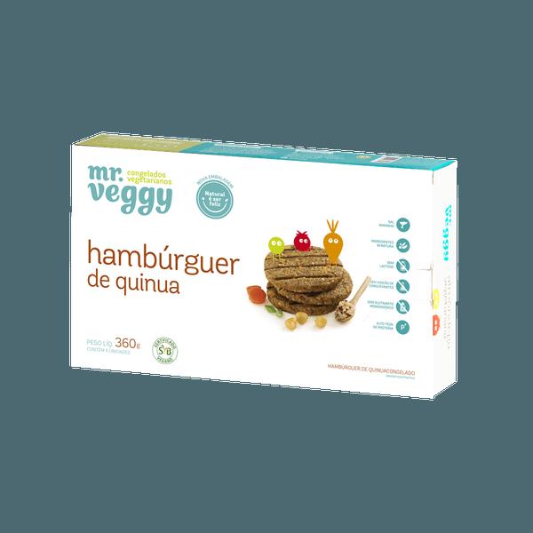 Hambúrguer de Quinua