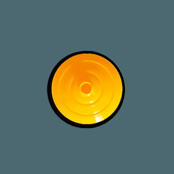 Tampa para Copo Twister 700ml c/ canudo - Caixa com 50 tampas e canudos Transparentes | AMARELO