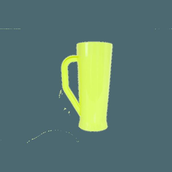 Caneca Long Amarelo flúor - Caixa com 50 unidades